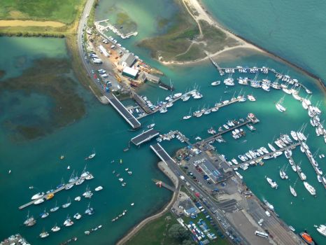 Harbour by air by VoltWolf
