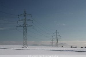 Following the Power Lines by MisterKhorny