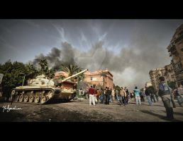 Egyptian Revolution II by Yahyamd