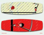 Innocent Kite Board by B3Ns