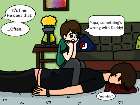 Phan and Dil: Baby's Concern by LittleDesertStar