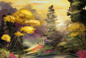Tranquility Cove by BlindCoyote