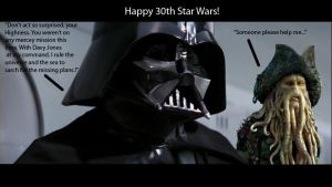 Happy Birthday Star Wars by starwarsisme