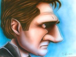 Liam Neeson by infiltr8arts