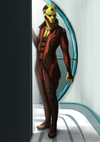 Thane Krios by WhatICantDo