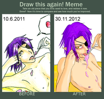 Meme before and after by ClayMage