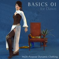 Basics 01 for Dawn: Fantasy by kobaltkween
