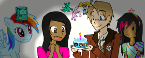 Happy birthday Domi by VocaloidxNikoorux20