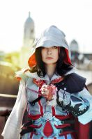 Assassin's Creed II fem!Ezio Auditore cosplay 6 by Ko-shi-patrick