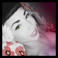 Flower Pin Up* by Thelema001