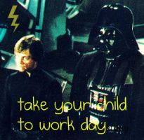 take your child to work day by WheresMyEdwardCullen
