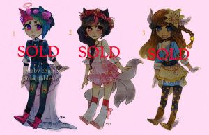 Adoptables chibi cute [CLOSED] by Grimegan-BT