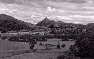 Mt Warning from the Tweed Regional Gallery by CouchyCreature