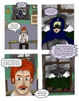 The Defense League Issue #1: Page 3 by XxKewonaWolfxX
