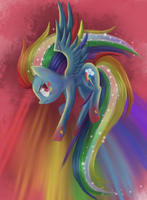 Rainbowfied Dash by xilenobody143