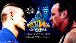 WWE Wrestlemania 29 Poster John Cena Vs Undertaker by LockdownGFX