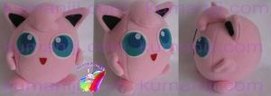 JIGGLYPUFF PLUSH by chocoloverx3