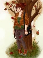 Miss Autumn by BirdChild