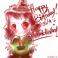 Happy Birthday Tom Hiddleston! by TheBlackJacket