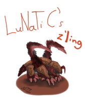 Zergling for LuNaTic by GrDreamer