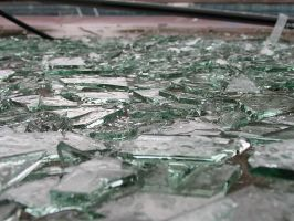 more broken glass by sataikasia