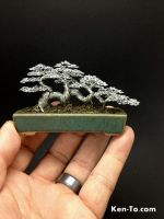 Raft style wire bonsai tree by Ken To by KenToArt