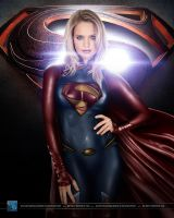Supergirl #2: Man of Steel version by SilentArmageddon