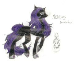 Nightsky Watcher by FuneralDyingheart