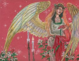 Angel of Noel by AngelaSasser