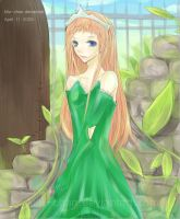 Princess of the Leaves and Sky by Kilu-Chan