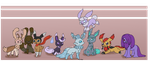 Eeveelution Spree by Usa-Ritsu
