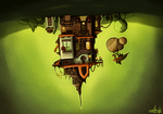 Hanging house (remake) by wojtryb