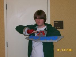 Kyle in Joey Wheeler Cosplay by Lord-Rageous