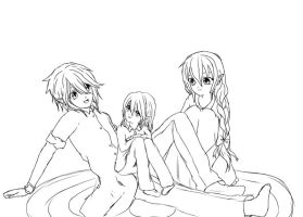 Family time (WIP) by SwordOfBurningLight