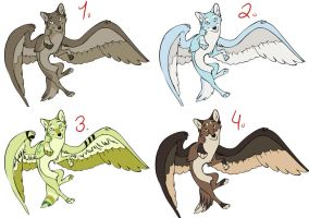 Winged Wolves by iheartart132
