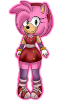 Amy Sonic Boom by FabienneTheHedgehog