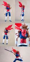 Custom Strider Hiryu figure by SomaKun