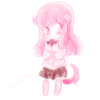 Naoko Sketch - Soft Colors by MitsukoBunny-chan