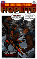 Hoplite No55 mock cover by Joe-Singleton