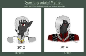 Draw This Again Meme! by devi98ellen