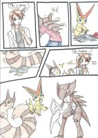Triple transformation page 2 by RaiinbowRaven