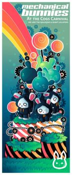 Cogs 'N Bunnies by bw-inc