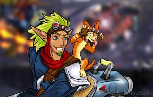 Jak and Daxter by Cataclysmic-Phantom