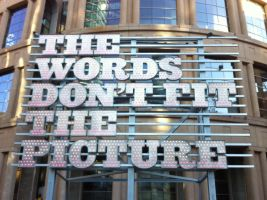 Words that don't fit by Paraformaldehyde