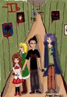 Markiplier and The Museum of Horrors, Ib by Xx-Angel-Sherubii-xX
