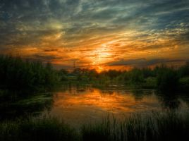 Clouds No3 HDR by Risen-From-The-Ruins