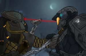 Contest - Predator vs Spartan by cfowler7