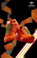 adidas Undefeated zx 8000 by sagast