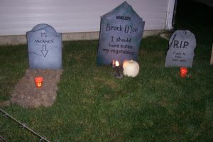 Finished tombstones by JTampa