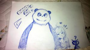 doodle at work ^^ by Mitsoro